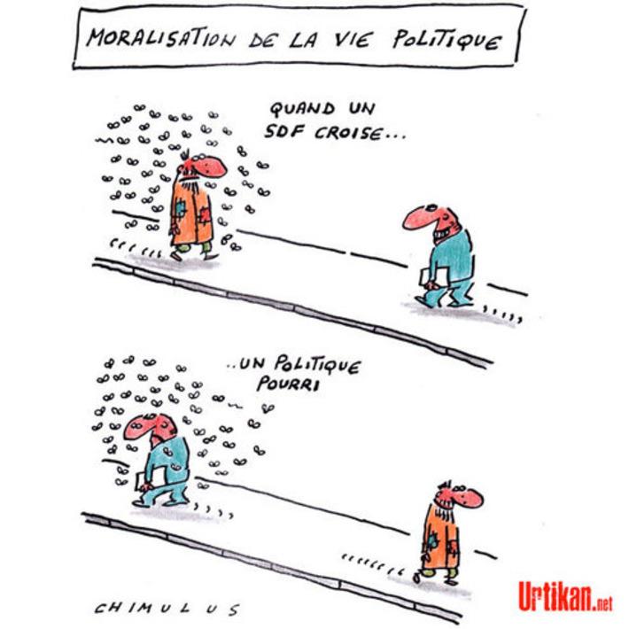 55 % des Français estiment que la plupart des politiques sont corrompus | Baie d'humour | Scoop.it