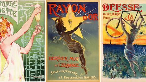 24 de los carteles más hermosos en los orígenes de la publicidad | Publicidad en México | Scoop.it