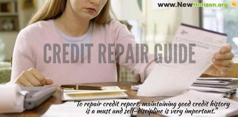 Comprehensive Credit Repair Guide | Financial, Personal Guide | Scoop.it