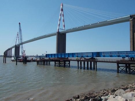 Anniversaire du pont de Saint-Nazaire. L'ouvrage passé à la loupe | Ils parlent de la Loire-Atlantique | Scoop.it