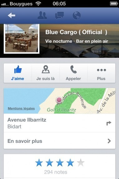 Facebook ajoute les évaluations pour les Pages Facebook sur la version desktop   Digital Martketing 101   Scoop.it
