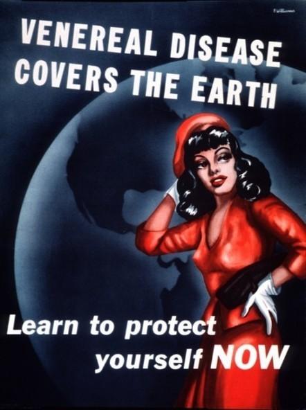 Military STD Posters, 1918-1945 | Random Ephemera | Scoop.it