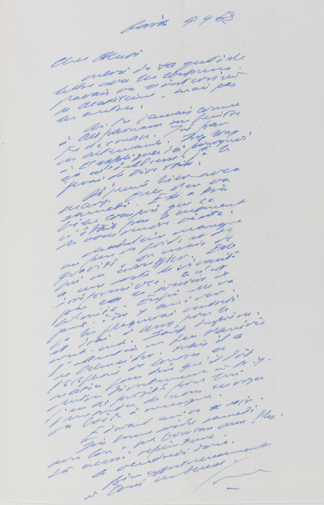 Trinity College Library Dublin Acquires Largest Collection of Samuel Beckett Letters Ever Offered for Public Sale | The Irish Literary Times | Scoop.it