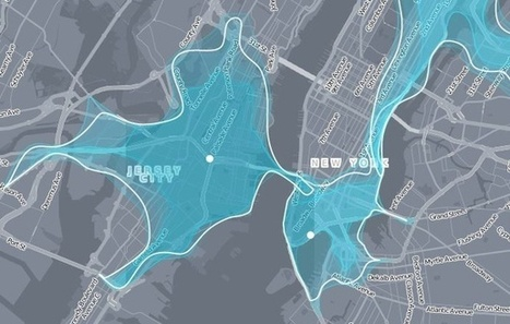 A Striking New Way to Visualize Mobility | The Geo Feed | Scoop.it