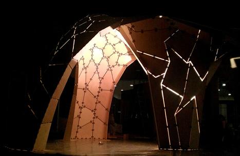 Ramboll Computational Design + TRADA Pavilion | | e-merging Knowledge | Scoop.it