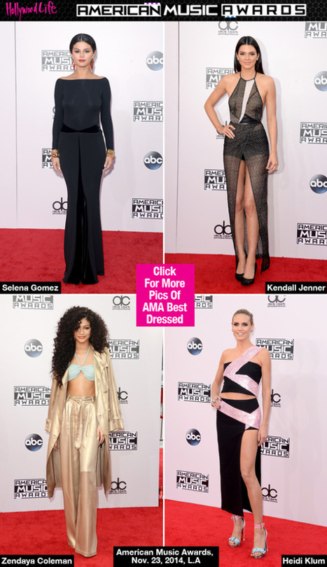 AMAs Best Dressed: Taylor Swift, Selena Gomez & More - Hollywood Life | Crazy Trends | Scoop.it