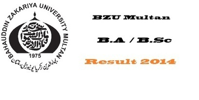 BZU Multan B.A / B.Sc Part-1 Annual Result 2014 Online | Fun TV Web | Scoop.it