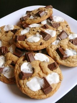 Baked Perfection: S'mores Cookies | All Things Cookie Baking | Scoop.it