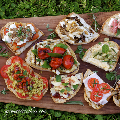 Recipes: 12 Bruschette for 12 Months | Le Marche and Food | Scoop.it