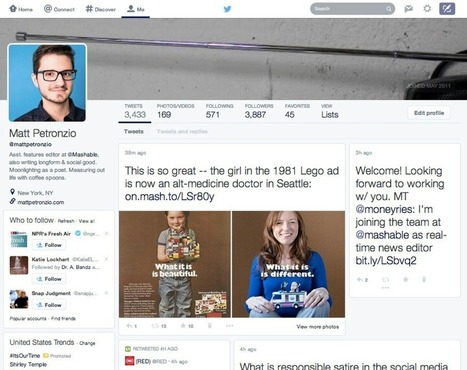 Twitter tests massive profile redesign that focuses on photos | Seo, Social Media Marketing | Scoop.it