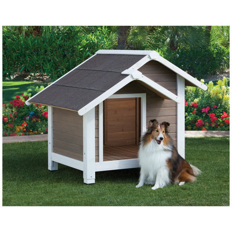 Wooden Dog House   Pet Care News   Scoop.it