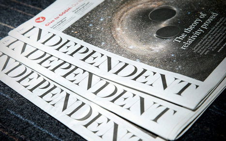 The Independent newspaper confirms an end to print production | Sociedad postindustrial del conocimiento y desarrollo | Scoop.it