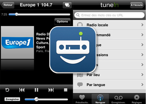 TuneIn Radio Pro iPhone iPad : Ecouter et Enregistrer Vos Radios ... | Radio 2.0 (En & Fr) | Scoop.it