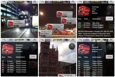 London Bus Live Merges Open Data with Junaio Augmented Reality | Augmented Reality Stuff For You | Scoop.it