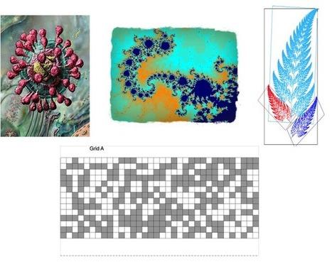 Principios y aplicaciones a la biología de la geometría fractal ... | Dibujo Técnico a través del arte. Arte a través del Dibujo Técnico. | Scoop.it