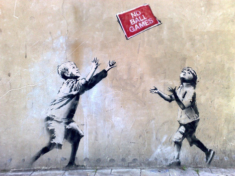 Un nouveau Banksy arraché d'un mur pour être vendu | Copyright Madness | Scoop.it
