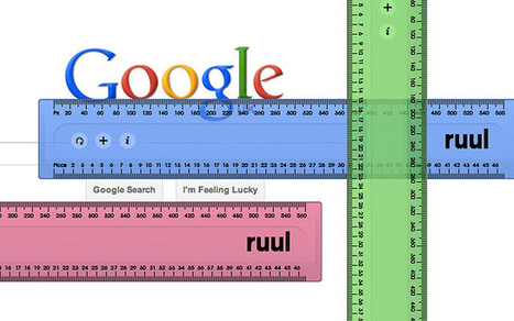 ruul. Screen ruler | technologies | Scoop.it