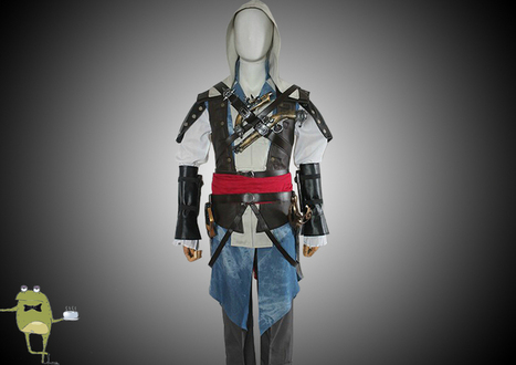 Assassin's Creed 4 Edward Kenway Cosplay Costume Outfit | Anime Cosplay Costumes | Scoop.it