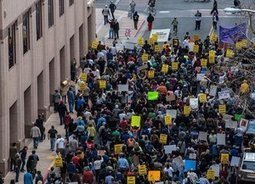 Huge march protests Albuquerque police murder of James Boyd | News in english | Scoop.it