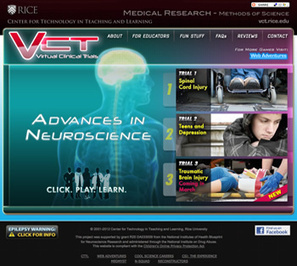 WEB ADVENTURES: FOR STUDENTS | Games — Virtual Clinical Trials - Index | Using Technology to Transform Learning | Scoop.it