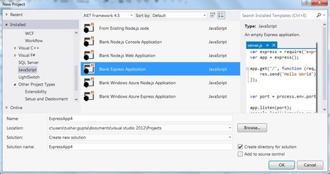 Developing Applications With Express Framework And Node.js - Quick Start - CodeProject | javascript node.js | Scoop.it