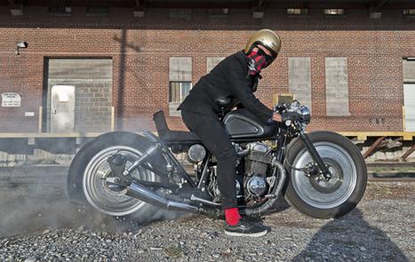 1977 Honda CB750F2 Brat-Style Bike | Vintage, Classic & Custom Motorbikes | Scoop.it