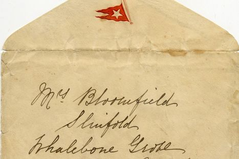 Discovered: Titanic's long lost letters and other forgotten correspondence from history | Genealogy | Scoop.it