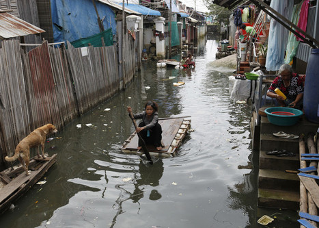 Vanishing Mekong? Shifting tropical storms threaten a great river delta   NERC media coverage   Scoop.it