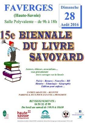 15e Biennale du Livre Savoyard à Faverges | Savoie d'hier et d'aujourd'hui | Scoop.it