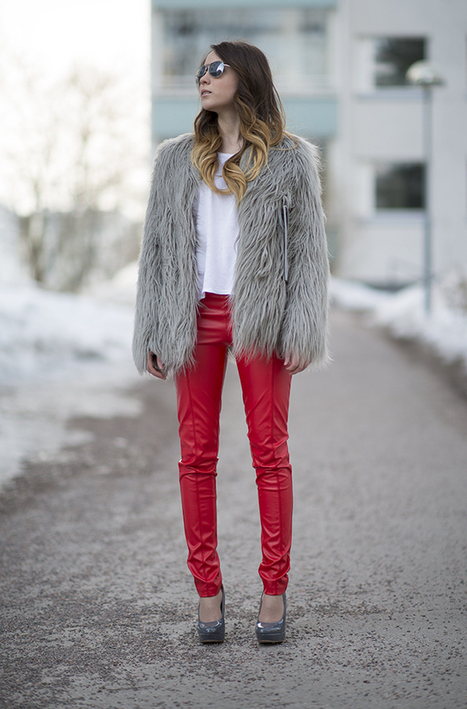 WE INSPIRE US: Red Leather Pants | Leather69.com -  Custom made leather cloth for men and women - | Scoop.it