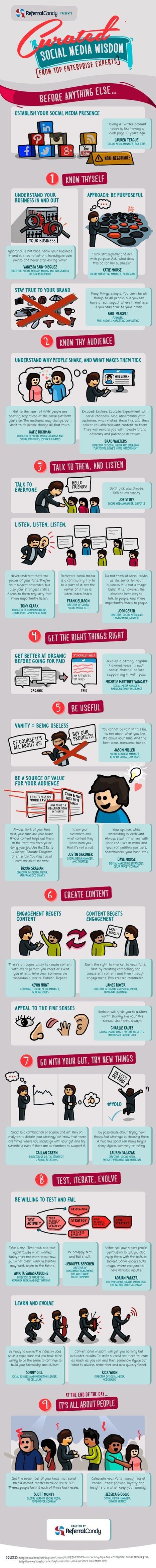 6 conseils de pros pour bien utiliser les réseaux sociaux | Digital News & best practices | Scoop.it
