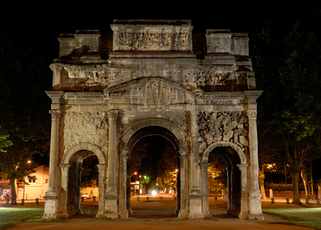 Triumphal Arch of Orange, France - Map, Facts, Location, Pictures | Travel | Scoop.it