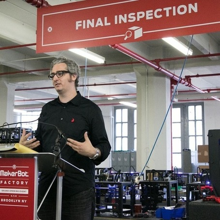 "Makerbot Acquired by Stratasys | L'impresa ""mobile"" 