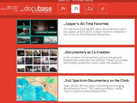 A Curated Collection of Innovative Documentaries: The MIT Docubase | The Social Web | Scoop.it