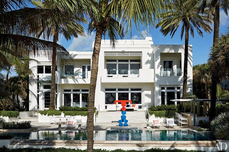 Sneak Peek Inside Tommy Hilfiger's Art And Disco Themed Miami Home - Pursuitist | Fashion Supply Chain Leaders | Scoop.it
