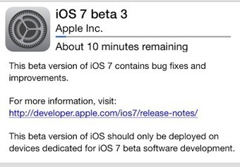 MacMyth: Changes in iOS 7 Beta 3 - Apple News l Apple Technology | Apple Gadgets | Technology and Gadgets | MacMyth | Scoop.it