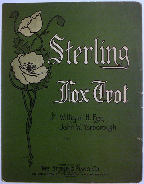 Sterling Fox Trot Antique 11 x 14 Large Format 1915 Sheet Music | Daily Paper | Scoop.it