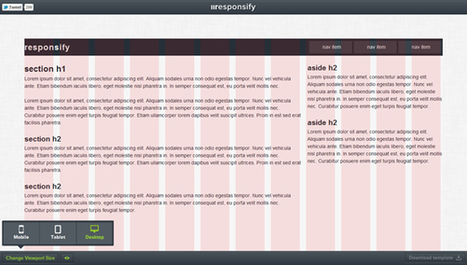 Responsify - Quickly generate your own responsive grid framework and customise it - CodeVisually | Fr3do-Webdesign-Wordpress | Scoop.it