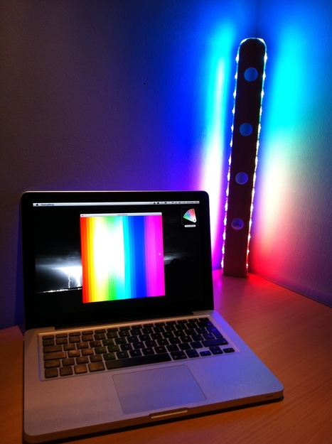 Arduino Blog » Blog Archive » An Arduino-controlled RGB lamp   Arduino in the Classroom   Scoop.it