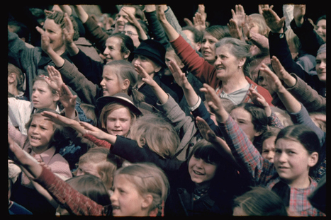 Intriguing photos from our ugly history. Adolf Hitler Among the Crowds: Color Photos of the Fuhrer's Fans | LIFE | TIME.com | An Eye on New Media | Scoop.it