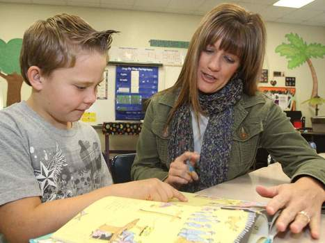 Top teacher inspired by her students - BlueRidgeNow.com | EducateMe | Scoop.it