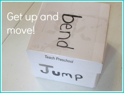Let's get moving with a DIY action cube! | Teach Preschool | Scoop.it