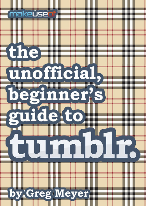 The unofficial, beginner's guide to tumblr | Time to Learn | Scoop.it