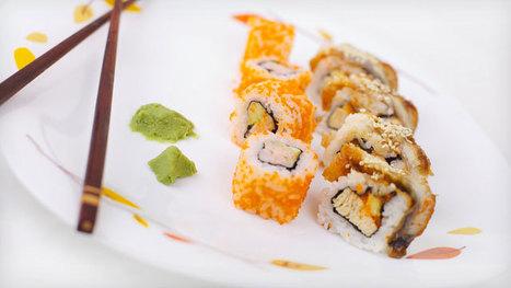 Quand les sushis se mettent à l'heure provençale ! | Le monde de la communication par Suite Aixperts | Scoop.it
