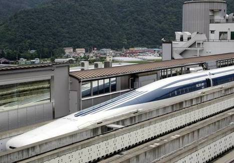 First passengers on Japanese maglev train travel at speeds of 311 mph | F584 Transport | Scoop.it
