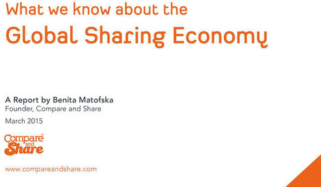 What We Know About the Global Sharing Economy | Peer2Politics | Scoop.it