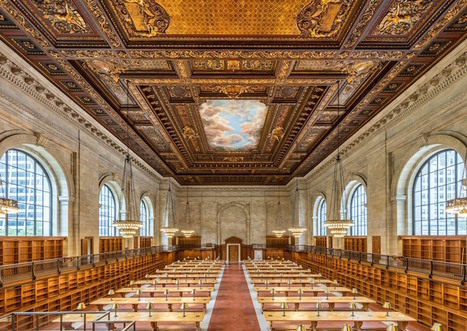New York Public Library Unveils Stunning 'Rose Reading Room' After Two-Year Renovation | Communication design | Scoop.it