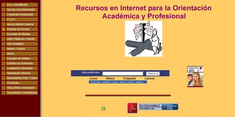 Recursos en Internet para la Orientación Académica y Profesional | orientación | Scoop.it