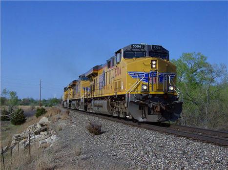 GE leads Caterpillar in locomotive race   Sustain Our Earth   Scoop.it