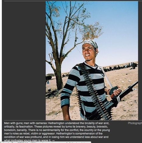 Tim Hetherington reclaimed as the war photographer he never wanted to be | Photography Now | Scoop.it